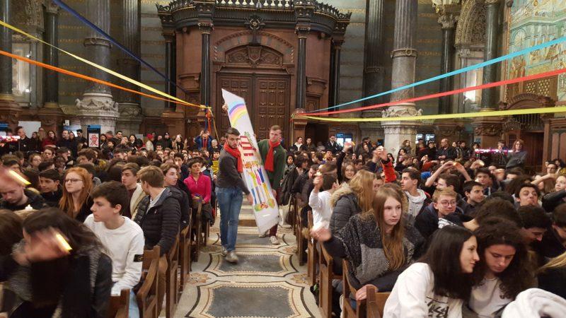 l'Institution a fêté<br> Don Bosco <br>